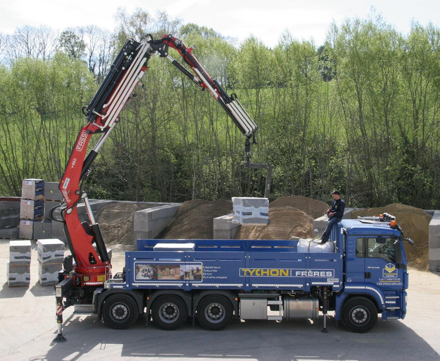 Tychon sprl mat riaux de construction for Prix materiaux construction maison